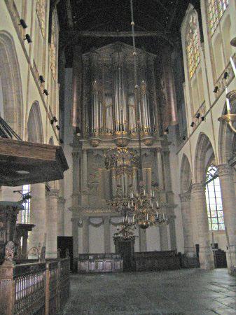 Hagebeer orgel St Laurenskerk Alkmaar