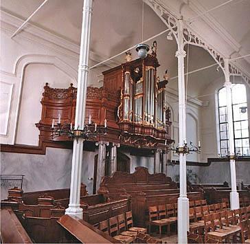 orgel Lokhorst kerk Leiden