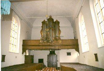 orgel doopsgezinde vermaning in Kampen